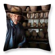 Artist - Potter - The Potter II Throw Pillow