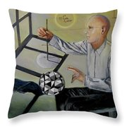 Artist And Muse Throw Pillow