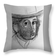Artist Degas  Throw Pillow