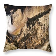 Artist Point Falls Throw Pillow