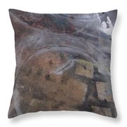 Artist Sidewalk 1 Throw Pillow