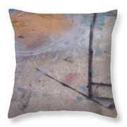 Artist Sidewalk 2 Throw Pillow
