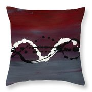Artistic Dna Throw Pillow