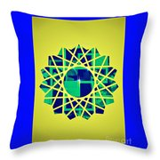 Artistic Flare Throw Pillow