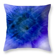 Artistic Flower Throw Pillow