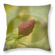 Artistic Hibiscus 2015-1 Throw Pillow