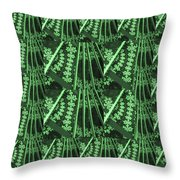 Artistic Sparkle Floral Green Graphic Art Very Elegant One Of A Kind Work That Will Show Great On An Throw Pillow