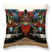 Artistry Abounds Throw Pillow