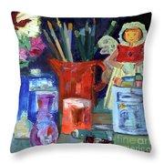 Artist's Angel Throw Pillow