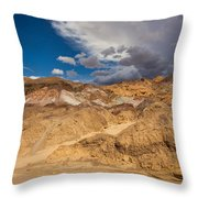 Artists Drive, Death Valley Throw Pillow