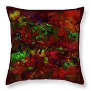 Artists Foliage Throw Pillow