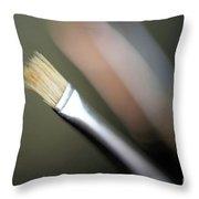 Artist's Paintbrush  Throw Pillow