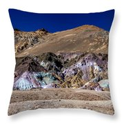 Artists Pallete Throw Pillow