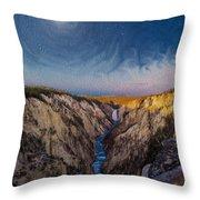 Artist's Point Sunrise Throw Pillow