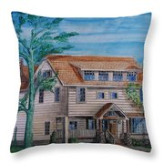 Arts And Crafts Style Throw Pillow