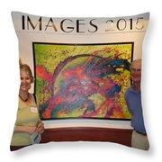 Arts Fest. 2015 - Images Show Throw Pillow