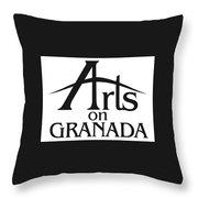 Arts On Granada Throw Pillow