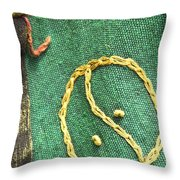 Artsy Fartsy - 11 - Duality Throw Pillow