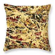 Artsy Fartsy - 2 - It Is What It Is  Throw Pillow