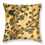 Artsy Fartsy - 8 - In Full Bloom  Throw Pillow