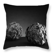 Artsychokes Throw Pillow
