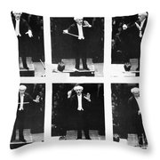 Arturo Toscanini Throw Pillow