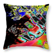 Artwalk Abstract Throw Pillow