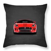 Jaguar F Type Throw Pillow