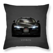 Bugatti Veyron Throw Pillow