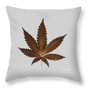 Cannabis Sativa Phone Case Throw Pillow