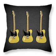 Fender Telecaster 52 Throw Pillow