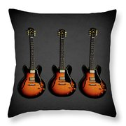 Gibson Es 335 1959 Throw Pillow