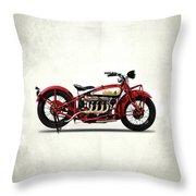 Indian 401 1928 Throw Pillow