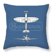 The Spitfire Throw Pillow
