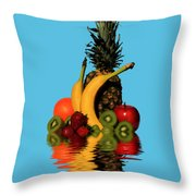 Fruity Reflections - Light Throw Pillow
