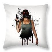 Bellatrix Throw Pillow