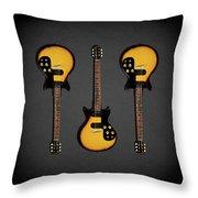 Gibson Melody Maker 1962 Throw Pillow