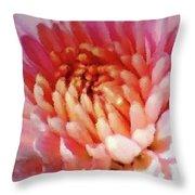 Mum In Pink Throw Pillow