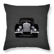 Bentley Continental 1952 Throw Pillow