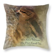 We Are Family - Verse Throw Pillow