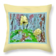 I Believe In Angels Throw Pillow