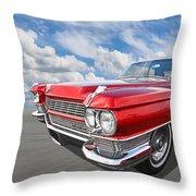 Classy - '64 Cadillac Throw Pillow