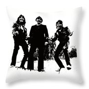 Michael Kegg Party Throw Pillow by Michael Kegg