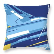 Symphony In Blue - Movement 4 - 1 Throw Pillow