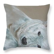 Arctic Frolic Throw Pillow