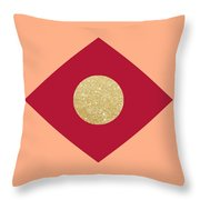 Hot Summer Explosion Throw Pillow