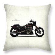 Harley Fxse Throw Pillow