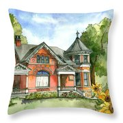 Gingerbread Lady Throw Pillow
