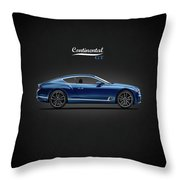 The Continental Gt Throw Pillow