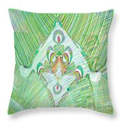 Gossamer Garden Throw Pillow